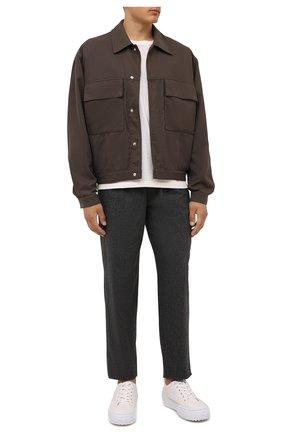 Мужские брюки ISABEL MARANT темно-серого цвета, арт. PA1996-21A013H/FAILEN0 | Фото 2