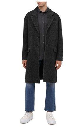 Мужской пальто ISABEL MARANT темно-серого цвета, арт. MA1015-21A007H/STANCER | Фото 2
