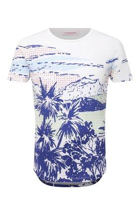 Мужская хлопковая футболка ORLEBAR BROWN белого цвета, арт. 273696 | Фото 1
