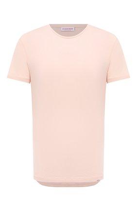 Мужская хлопковая футболка ORLEBAR BROWN бежевого цвета, арт. 274181 | Фото 1