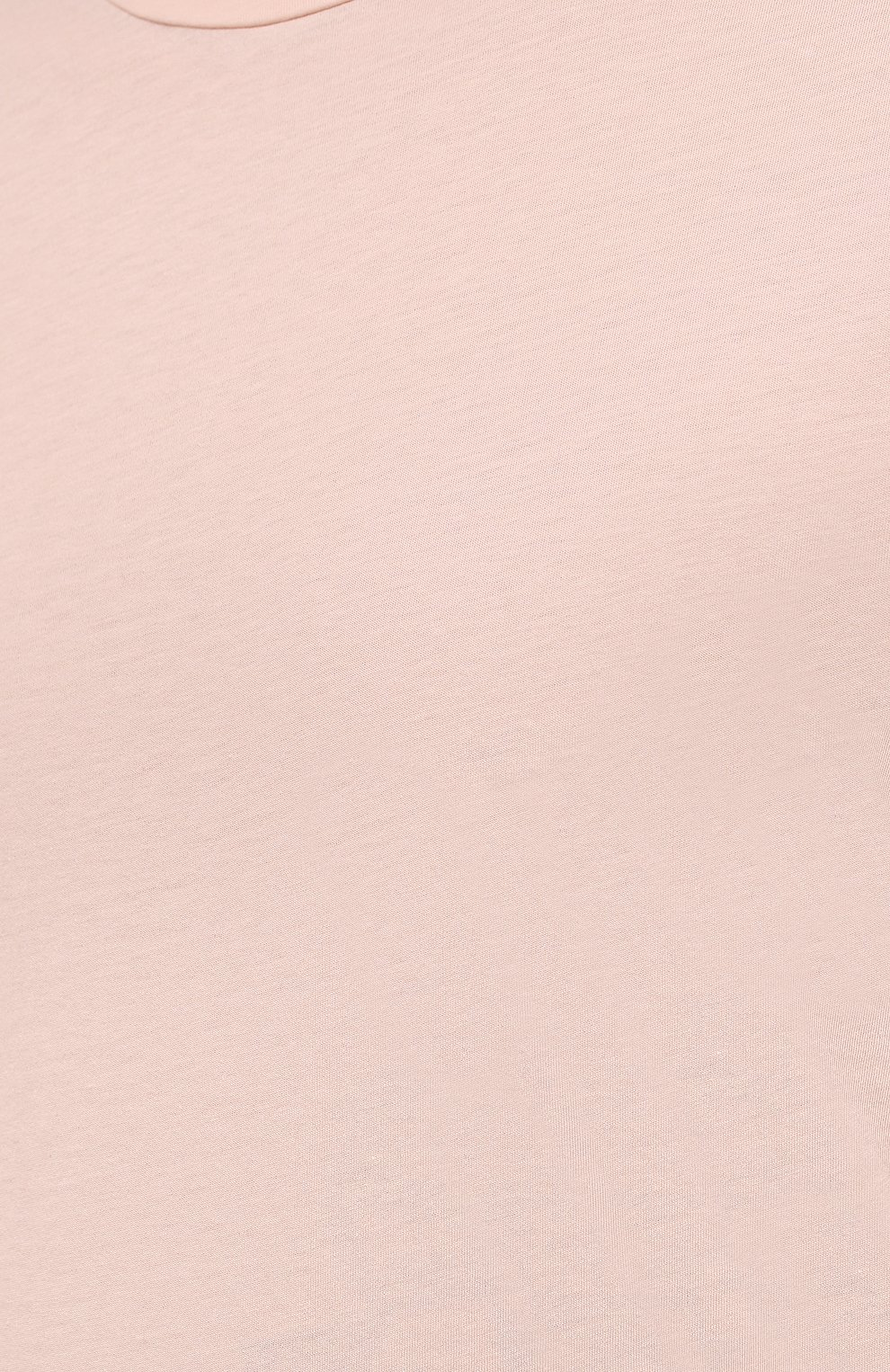 Мужская хлопковая футболка ORLEBAR BROWN бежевого цвета, арт. 274181 | Фото 5 (Кросс-КТ: Пляж; Принт: Без принта; Рукава: Короткие; Длина (для топов): Стандартные; Материал внешний: Хлопок; Стили: Кэжуэл)