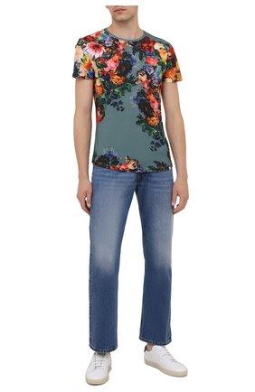 Мужская хлопковая футболка ORLEBAR BROWN разноцветного цвета, арт. 274211 | Фото 2 (Рукава: Короткие; Длина (для топов): Стандартные; Материал внешний: Хлопок; Принт: С принтом; Стили: Романтичный; Кросс-КТ: Пляж)