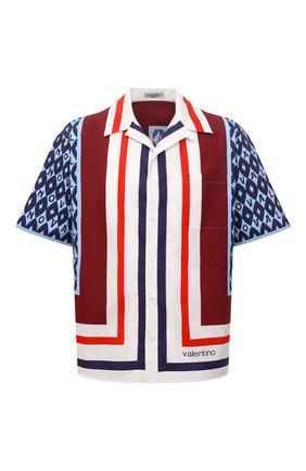 Мужская хлопковая рубашка VALENTINO разноцветного цвета, арт. WV3AAA907CA | Фото 1