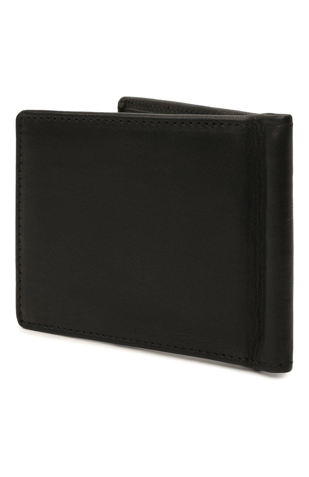 Мужской кожаный зажим для денег HARLEY-DAVIDSON черного цвета, арт. CR2375L-Black | Фото 2