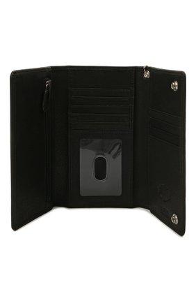 Мужской кожаное портмоне HARLEY-DAVIDSON черного цвета, арт. EE9014L-Black   Фото 3