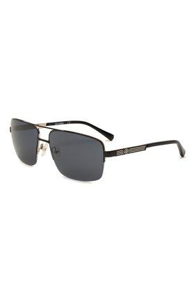 Мужские солнцезащитные очки HARLEY-DAVIDSON черного цвета, арт. HD 0953X 02A   Фото 1 (Тип очков: С/з; Оптика Гендер: оптика-мужское; Очки форма: Авиаторы)