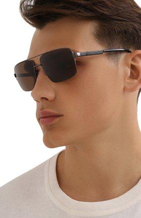 Мужские солнцезащитные очки HARLEY-DAVIDSON коричневого цвета, арт. HD 0953X 08E | Фото 2