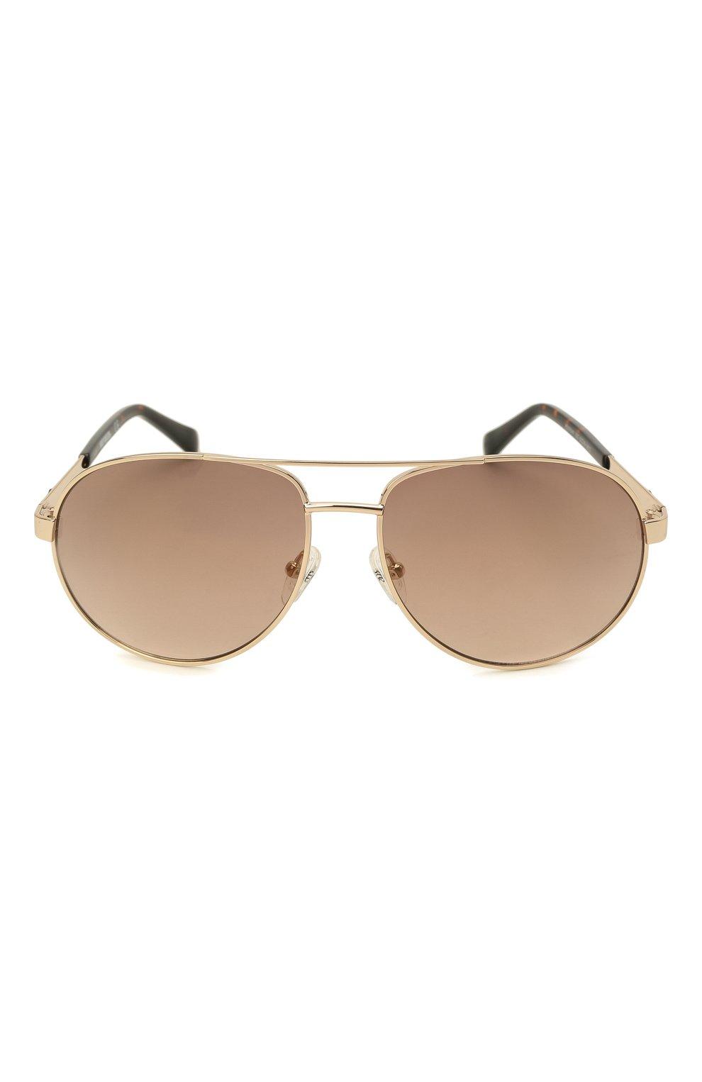 Мужские солнцезащитные очки HARLEY-DAVIDSON коричневого цвета, арт. HD 0954X 32G   Фото 3 (Тип очков: С/з; Очки форма: Авиаторы; Оптика Гендер: оптика-мужское)