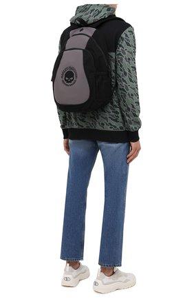 Мужской рюкзак HARLEY-DAVIDSON черного цвета, арт. XBP1536-GryBlk   Фото 2 (Материал: Текстиль)