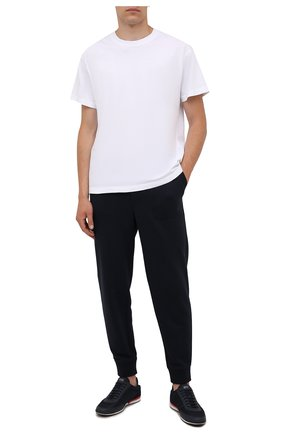 Мужские кроссовки BOSS темно-синего цвета, арт. 50455313 | Фото 2
