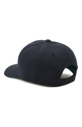Мужской хлопковая бейсболка BOSS синего цвета, арт. 50448434 | Фото 2