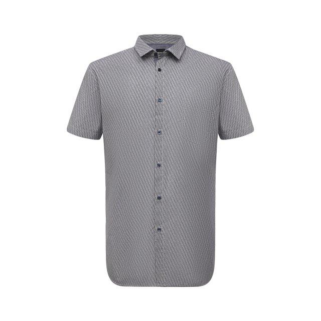Хлопковая рубашка Boss Orange 12114304