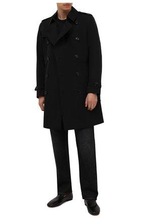 Мужские кожаные лоферы H`D`S`N BARACCO черного цвета, арт. PIUMA.T.0* | Фото 2