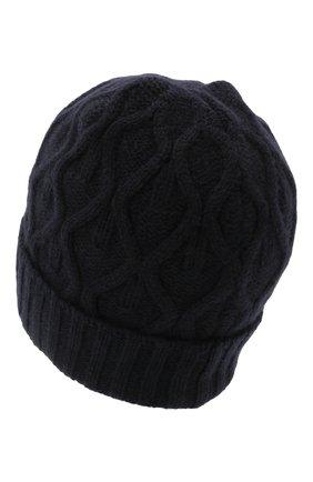 Мужская шерстяная шапка DANIELE FIESOLI темно-синего цвета, арт. DF 8009/NL | Фото 2