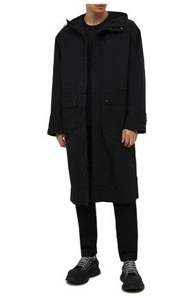 Мужские текстильные кроссовки ALEXANDER MCQUEEN черного цвета, арт. 662683/W4MV8 | Фото 2