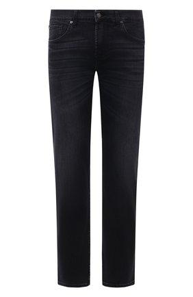 Мужские джинсы 7 FOR ALL MANKIND черного цвета, арт. JSMSL85RWB | Фото 1
