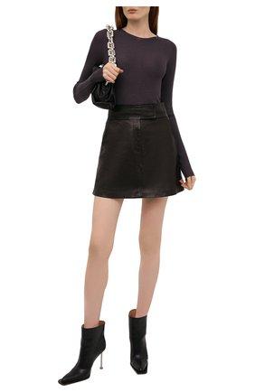Женский шерстяной пуловер RICK OWENS темно-бордового цвета, арт. RP02A7621/RIBM   Фото 2