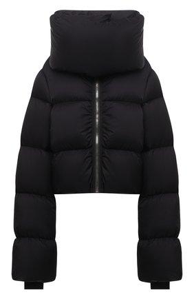 Женская пуховая куртка RICK OWENS черного цвета, арт. RP02A7773/NZD3   Фото 1