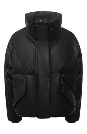 Женская пуховая куртка MM6 черного цвета, арт. S52AM0176/S53057   Фото 1