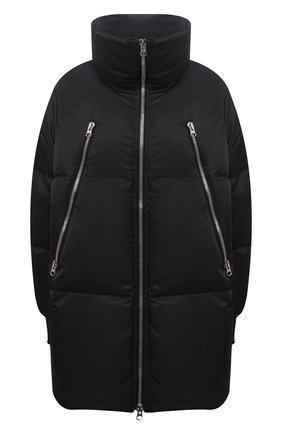 Женская пуховая куртка MM6 черного цвета, арт. S52AM0181/S53984   Фото 1