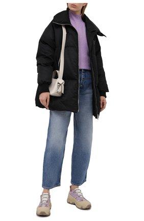 Женская пуховая куртка MM6 черного цвета, арт. S52AM0181/S53984   Фото 2
