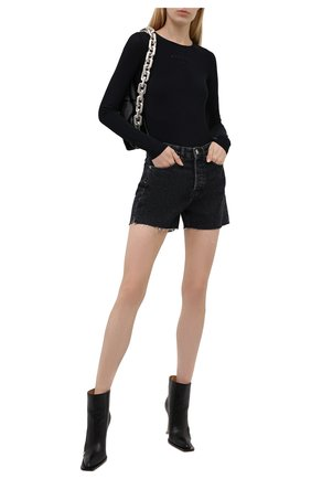 Женское боди MM6 черного цвета, арт. S52NA0043/S20518 | Фото 2