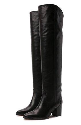 Женские кожаные ботфорты remine ISABEL MARANT черного цвета, арт. REMINE/CD0043-21A007S | Фото 1