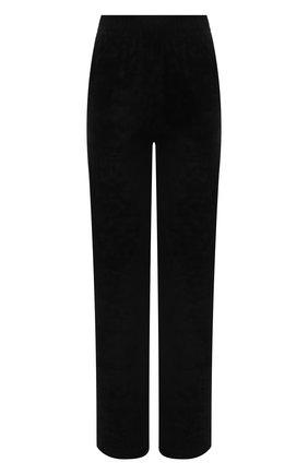 Женские брюки из вискозы GIVENCHY черного цвета, арт. BW50QM30ME | Фото 1