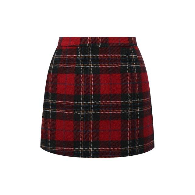 Шерстяная юбка REDVALENTINO