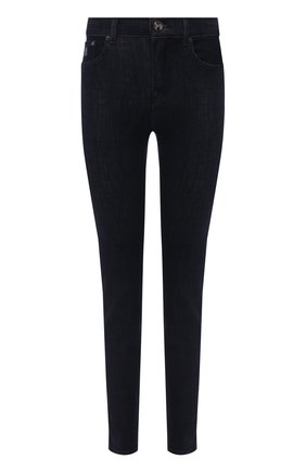 Женские джинсы MOORER темно-синего цвета, арт. JUDY-G3/M0DDE100003-TEPA152 | Фото 1