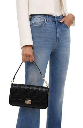 Женская сумка bradshaw small MICHAEL MICHAEL KORS черного цвета, арт. 30S1G2BL1T | Фото 2