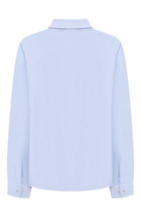 Детская хлопковая рубашка DAL LAGO голубого цвета, арт. N405/1165/4-6 | Фото 2