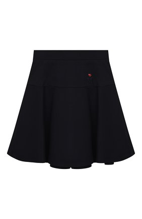 Детская юбка MONNALISA темно-синего цвета, арт. 188RUO   Фото 1