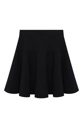 Детская юбка MONNALISA темно-синего цвета, арт. 188RUO   Фото 2