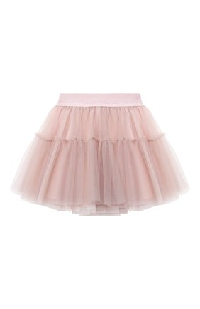 Детская юбка MONNALISA розового цвета, арт. 178GON | Фото 1