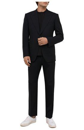 Мужской шерстяной костюм TOM FORD темно-синего цвета, арт. Q22R13/21AL43 | Фото 1