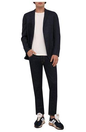 Мужской шерстяной пиджак Z ZEGNA синего цвета, арт. 254773/1D7SG0 | Фото 2