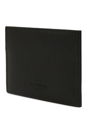Мужской кожаный футляр для кредитных карт VALENTINO черного цвета, арт. WY2P0448/VNA | Фото 2