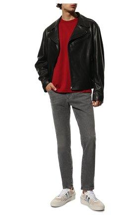 Мужские джинсы DOLCE & GABBANA серого цвета, арт. GY07CD/G8CP2 | Фото 2