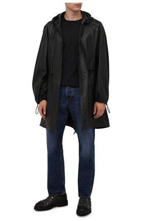 Мужские замшевые ботинки DOUCAL'S темно-коричневого цвета, арт. DU2736PHILUF205NN03 | Фото 2 (Подошва: Плоская; Материал внутренний: Натуральная кожа; Мужское Кросс-КТ: Ботинки-обувь; Материал внешний: Замша)