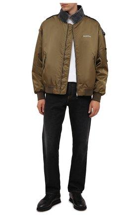 Мужские кожаные кроссовки DOUCAL'S черного цвета, арт. DU2880WINNUM0192N00 | Фото 2 (Подошва: Массивная; Материал утеплителя: Натуральный мех; Стили: Классический)