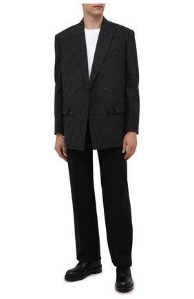 Мужские кожаные дерби vl7n city VALENTINO черного цвета, арт. WY2S0E54/PPW | Фото 2