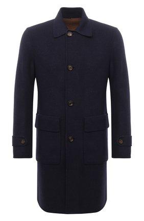 Мужской двустороннее пальто ELEVENTY PLATINUM темно-синего цвета, арт. D75CAPD16 TES0D054   Фото 1