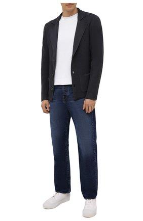 Мужской шерстяной пиджак DANIELE FIESOLI темно-серого цвета, арт. DF 0114 | Фото 2