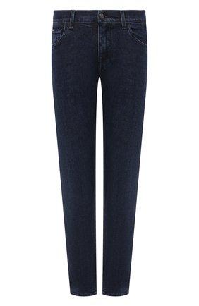 Мужские джинсы DOLCE & GABBANA синего цвета, арт. GY07CD/G8EI2   Фото 1