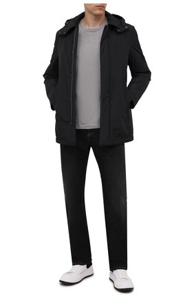 Мужская пуховая куртка CANALI темно-серого цвета, арт. 020304E/SG01774 | Фото 2