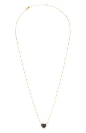 Женское колье J-POINT золотого цвета, арт. ИПГ857.42.250521.14Y | Фото 1 (Материал: Золото)