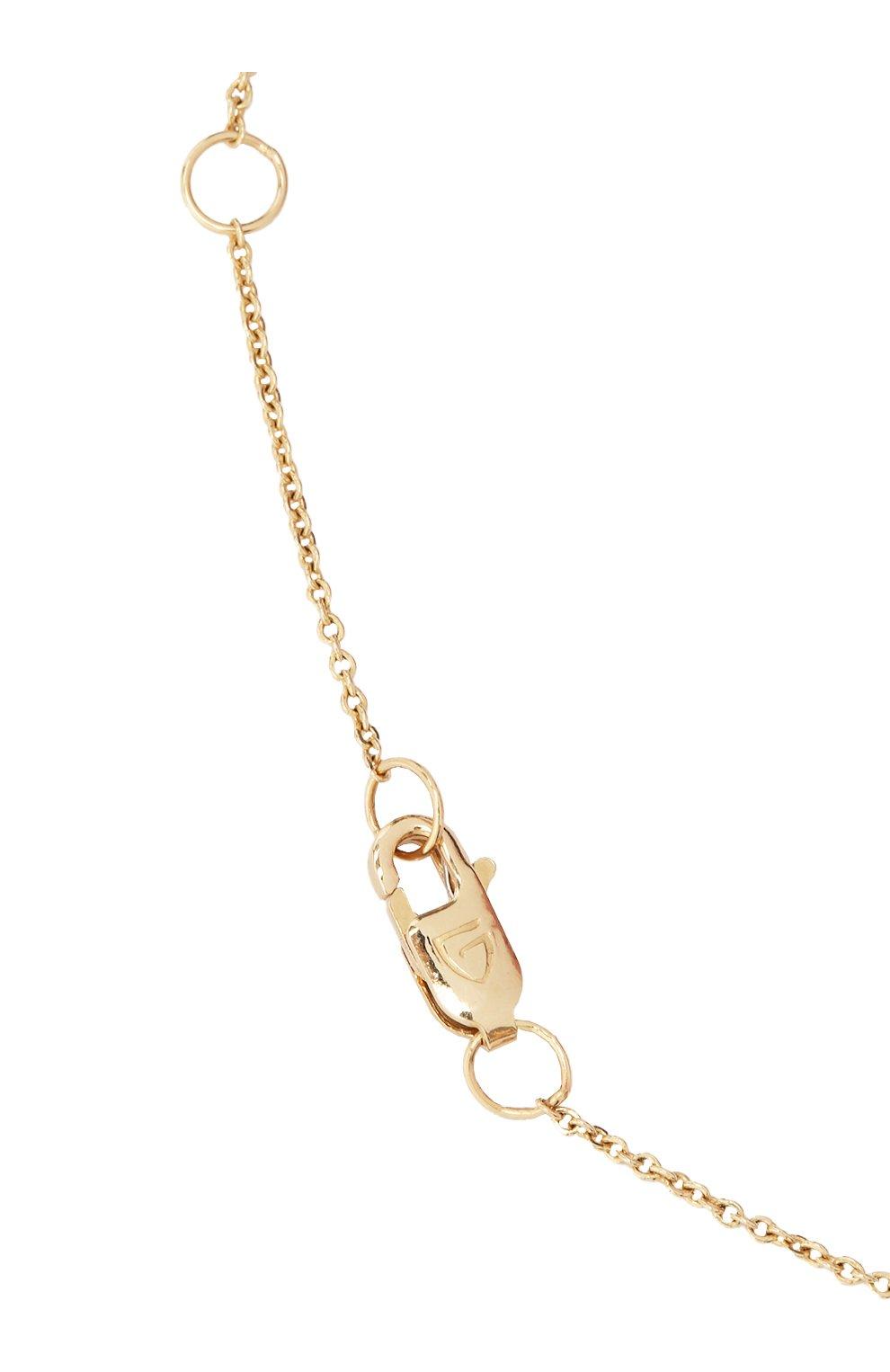 Женское колье J-POINT золотого цвета, арт. ИПГ857.42.250521.14Y | Фото 3 (Материал: Золото)