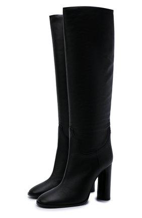 Женские кожаные сапоги CASADEI черного цвета, арт. 1S163T1001C14919000   Фото 1