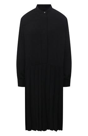 Женское платье MM6 черного цвета, арт. S52CT0645/S43455   Фото 1
